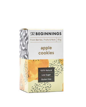 Raw Apple cookies 80G or 35G
