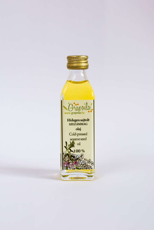 Sesame seed oil cold pressed