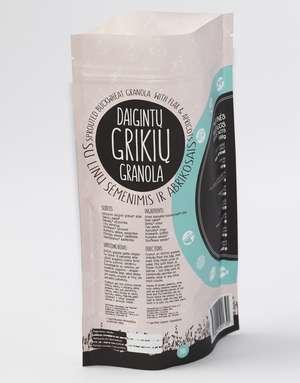 Sprouted buckwheat granola - Caramel