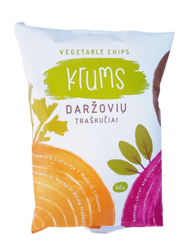 Daržovių traškučiai/Vegetable chips