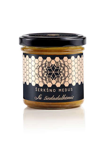 Honey with bee pollen