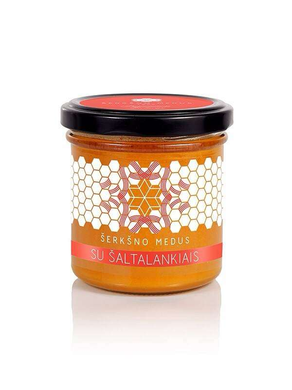Honey with freeze-dried buckthorn