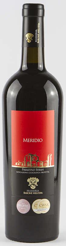 """""""MERIDIO"""" Primitivo & Syrah - IGP Puglia - Red Wine"""