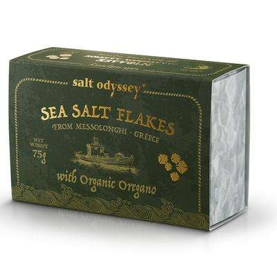 SEA SALT FLAKES OREGANO (ORGANIC)