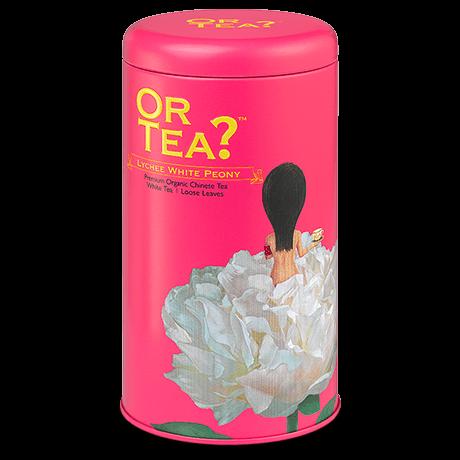 Premium Organic Chinese Tea   Lychee White Peony