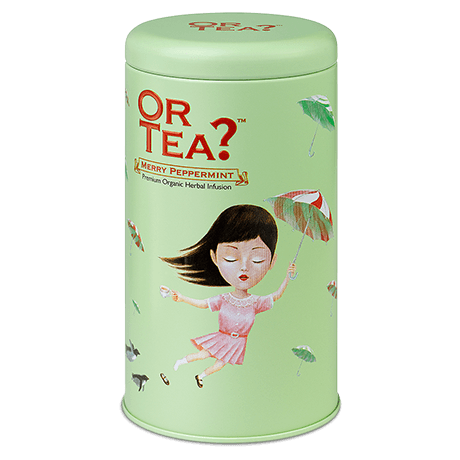 Organic Herbal Tea with Peppermint flavouring | Merry Peppermint