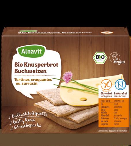 Organic Buckwheat Crispbread