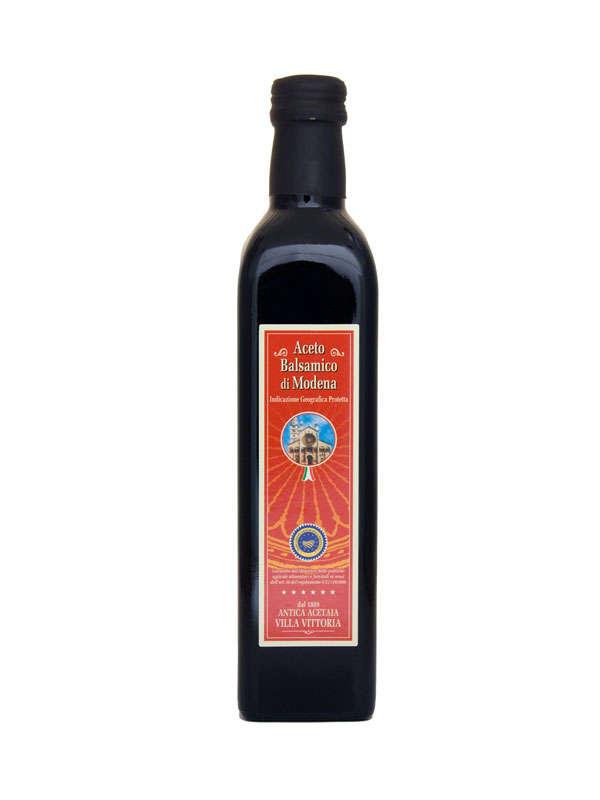 Aceto balsamico di Modena IGP - Squared  0,5 lt Bordeaux