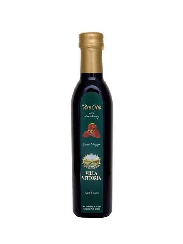 Vino Cotto - Aromatic Strawberry cooked wine 0,25 lt