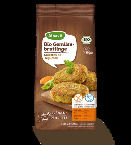 Organic Vegetable Burgers