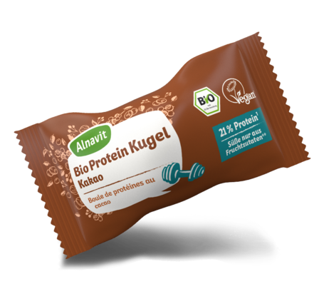 Organic Protein Ball Cacao 21% protein