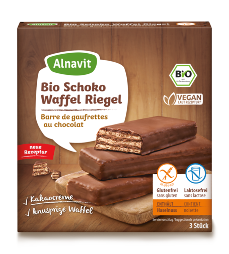 Organic Chocolate Wafer Bars