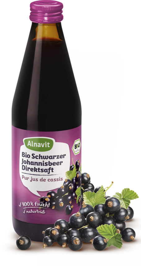 Organic Blackcurrant Juice