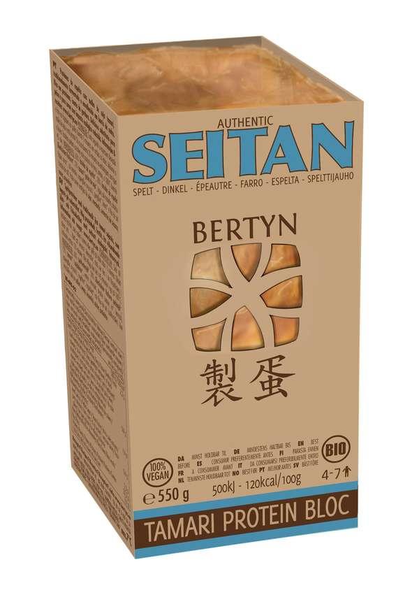Bertyn Tamari Protein Seitan Bloc