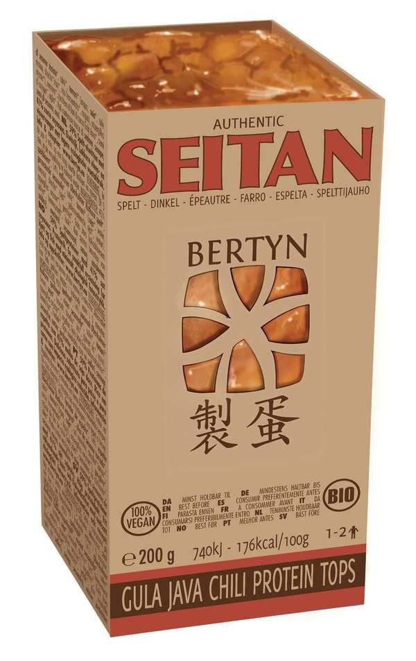 Bertyn seitan: Gula Java Chili Protein Tops