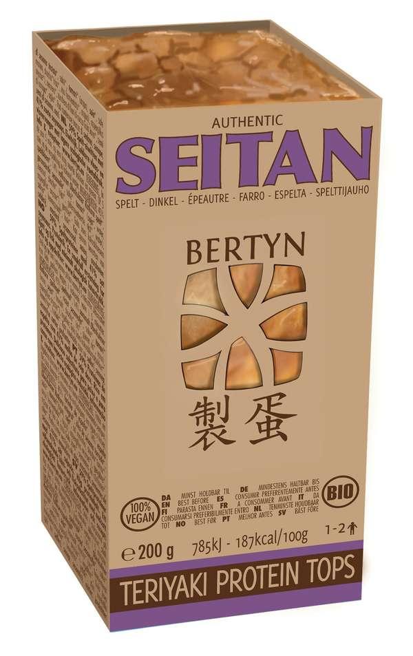 Teriyaki Protein Tops: seitan made from organic wholemeal spelt