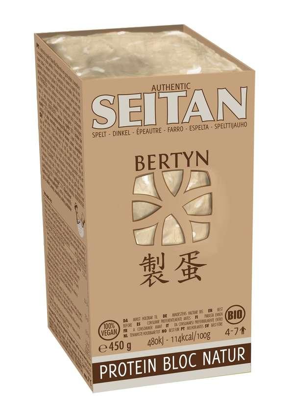 Bertyn seitan Protein Bloc Natur with spelt