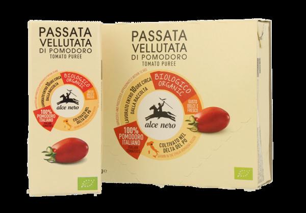 Creamy tomato purée - 3 x 200g carton