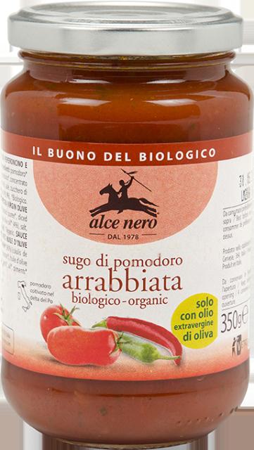 Organic Arrabbiata tomato sauce - 350g