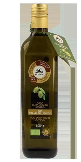 Extra-virgin olive oil D.O.P. - Organic Terra di Bari Bitonto - 750ml