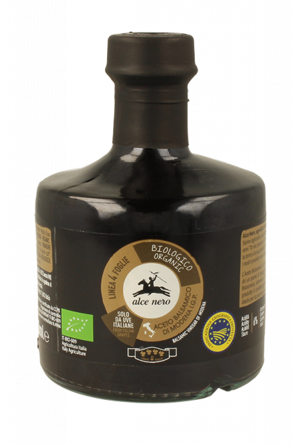 Balsamic vinegar of Modena I.G.P. organic 4 leaf - 250ml