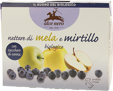 Apple and blueberry nectar - 3 x 200ml cartons