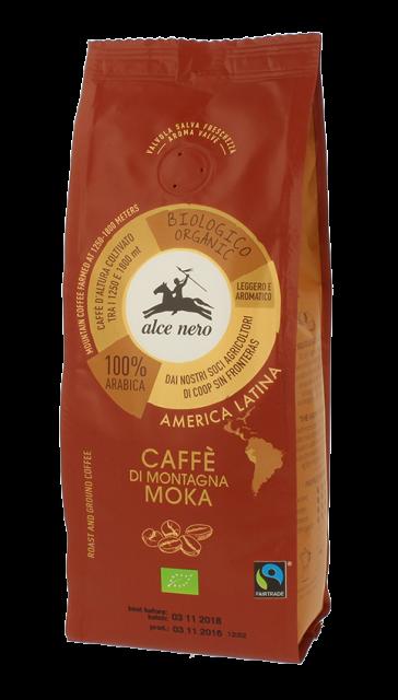 100% organic Arabica moka coffee - 250g