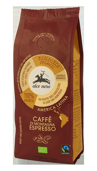 100% organic Arabica espresso coffee - 250g