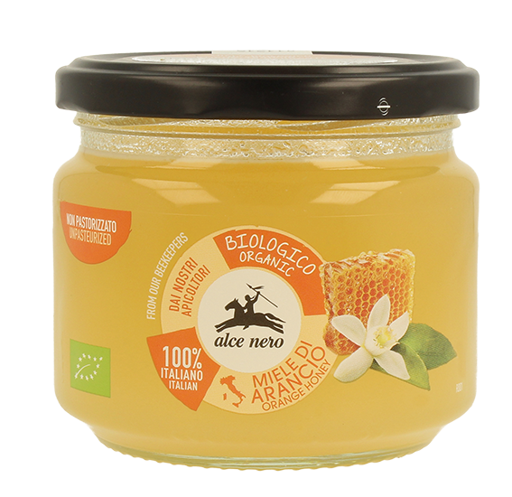 Organic Italian orange blossom honey - 300g