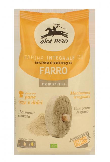 Organic wholegrain spelt flour - 500g