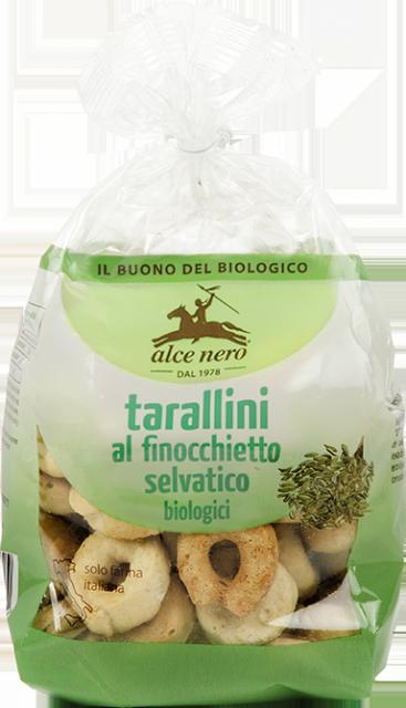 Organic wild fennel Tarallini - 250g