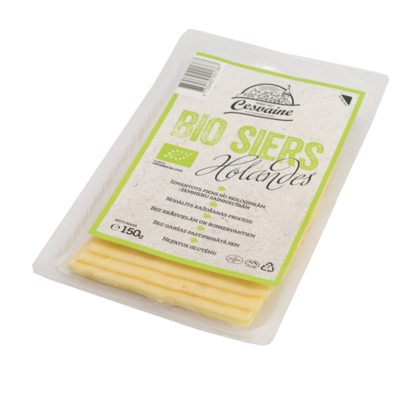 BIO cheese Gouda slices 150g