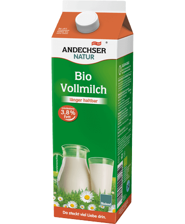 Unskimmed milk 3.8% 1l extended shelf life