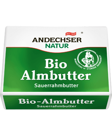 Organic alp butter 250g