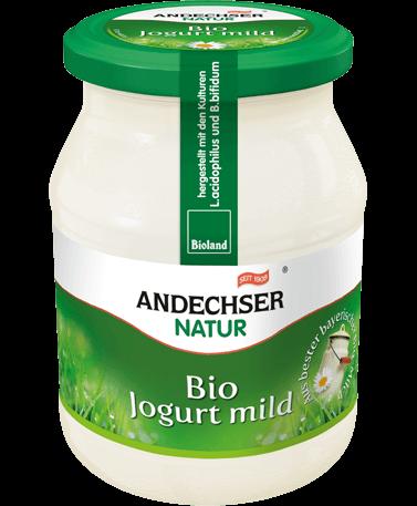 Mild organic yogurt 3.7% 500g cup