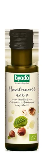 Hazelnut oil, cold pressed, from Piemont hazelnuts