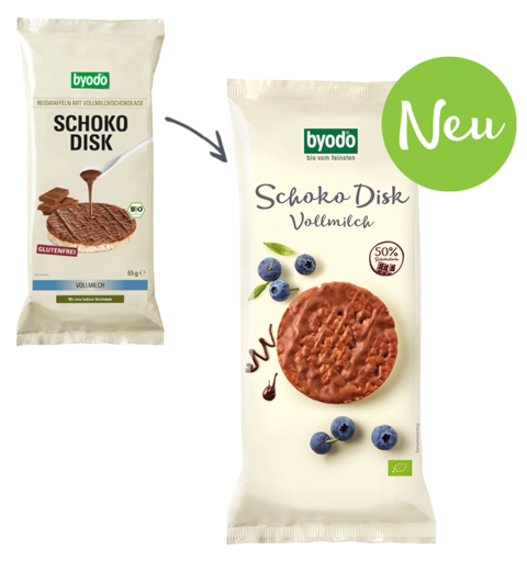 Schoko Disk with Sweet Chocolate