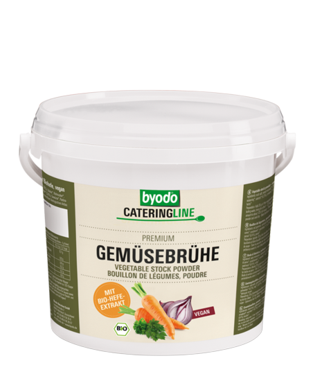 Vegetable Stock Powder with organic yeast extract