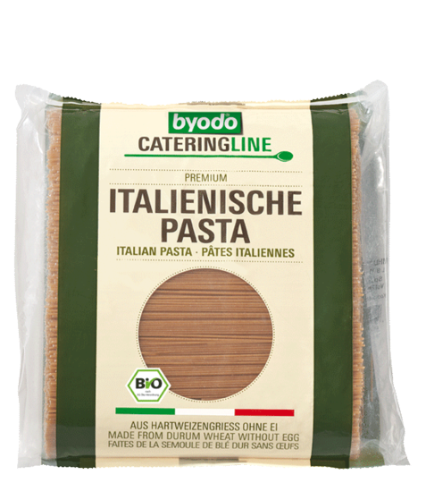 Spaghetti wholemeal, integral