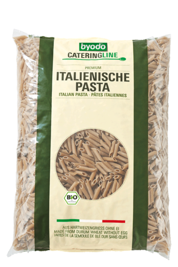 Penne wholemeal, integral