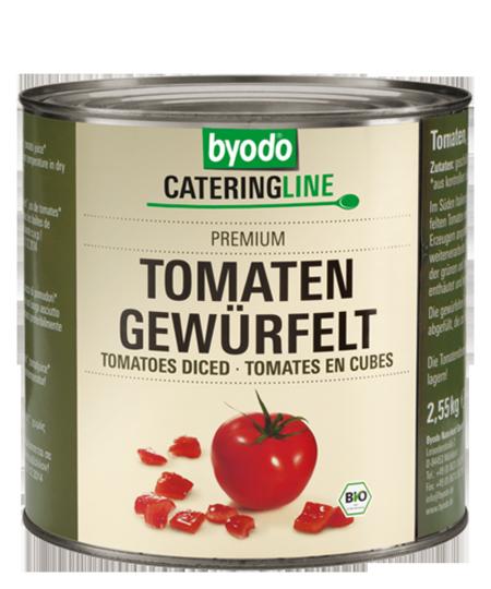 Diced peeled Tomatoes