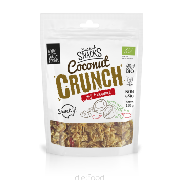 coconut crunch with goji+pumpkin
