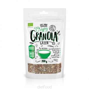 Granola with super greens