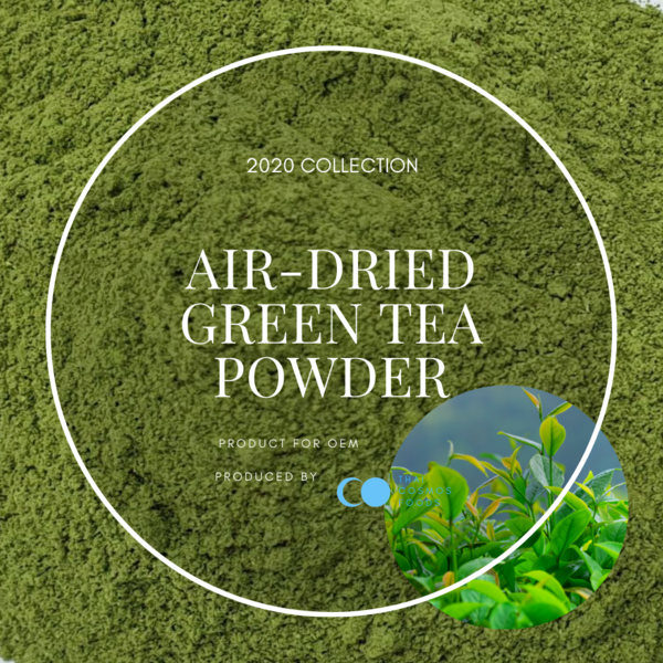 AIR-DRIED GREEN TEA POWDER