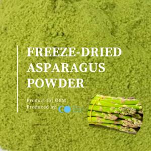 FREEZE-DRIED ASPARAGUS POWDER