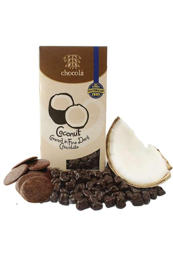 Coconut Covered in Fine Dark Chocolate